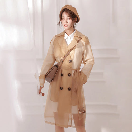 REN SHIRTDRESS AND COAT SET