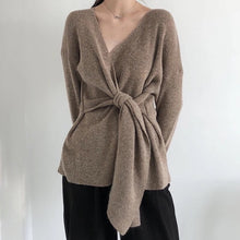 DRAKE KNIT WRAP TOP