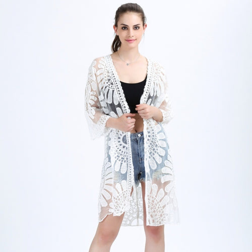PALMA LACE COVER UP