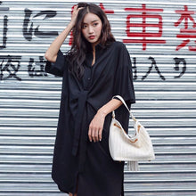 CLARION SHIRT DRESS (BLACK)