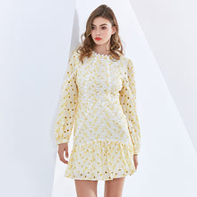 CHANTILLY EMBROIDERED DRESS