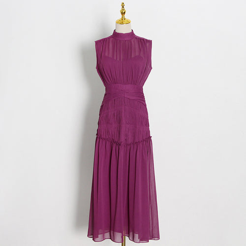 RAILLON RUCHED DRESS