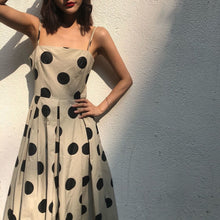 OREN POLKA DOT DRESS