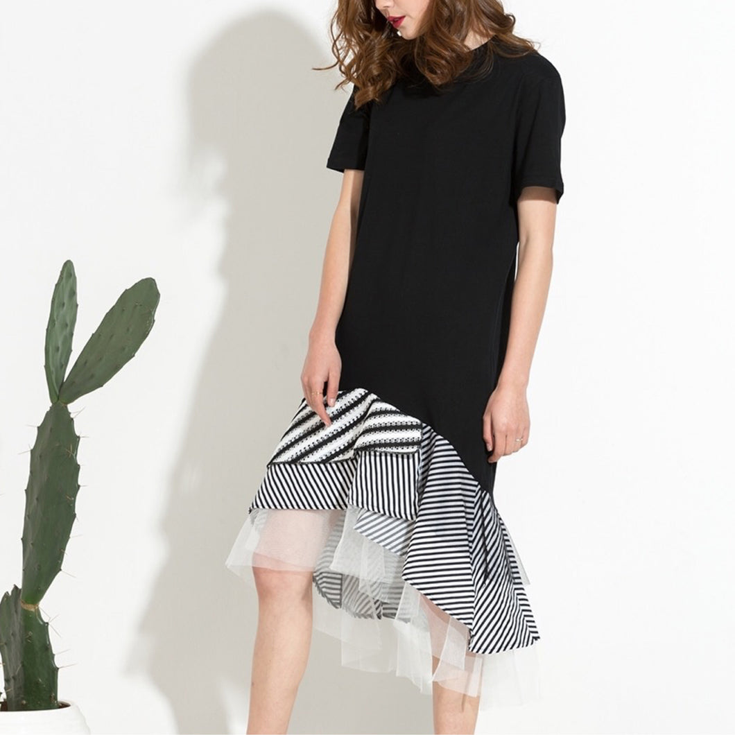 many styles hot-selling professional amazing selection STANTON TULLE HEM T-SHIRT DRESS – Offbeat Alley