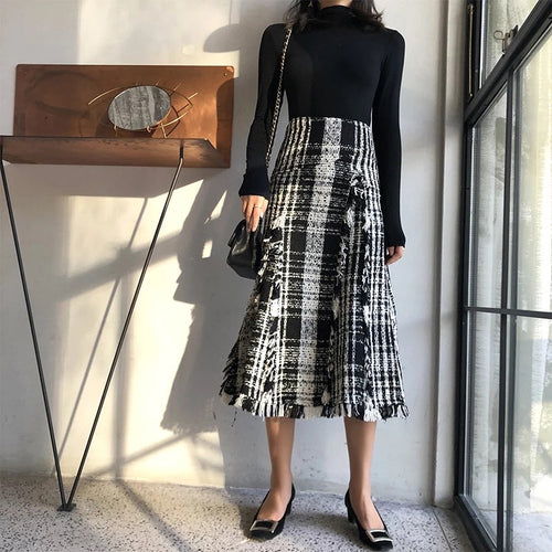 ROCA TWEED SKIRT