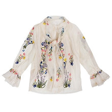 CHAGALL EMBROIDERED TOP