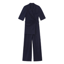 METZ WRAP WIDE LEG JUMPSUIT
