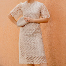 AMARIS LACE MIDI DRESS