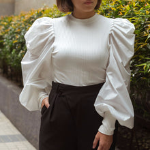 CHATEL PUFF SLEEVE TOP
