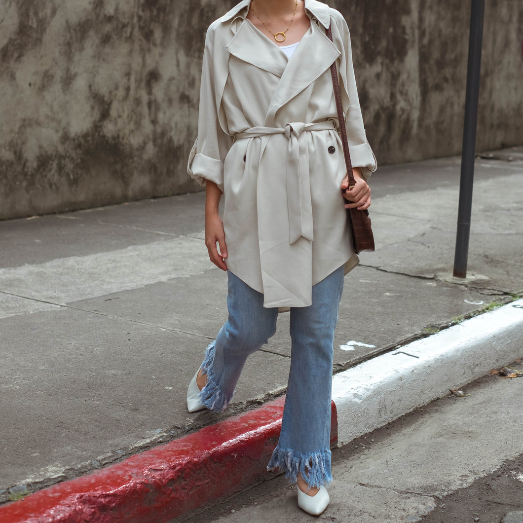 DALSTON LIGHT TRENCH COAT