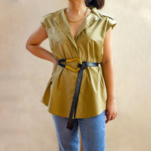 THAMES PADDED SHOULDER SHIRT