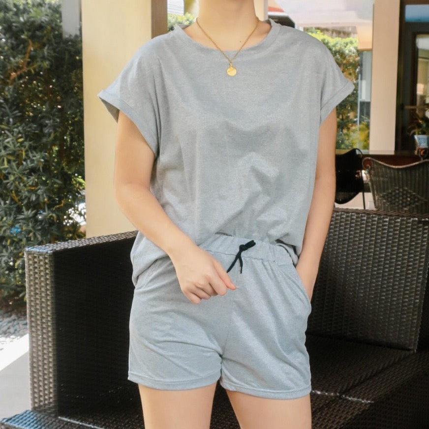 NAJAC LOUNGE TOP AND SHORTS SET