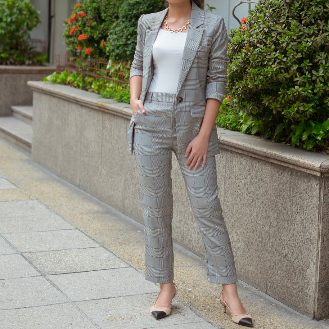 REITER BLAZER AND PANTS SET