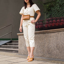 MERANO PUFF SLEEVE JUMPSUIT