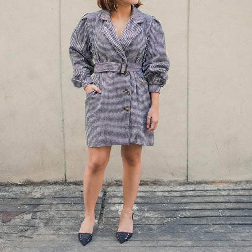 MAXWELL OVERSIZED BLAZER DRESS