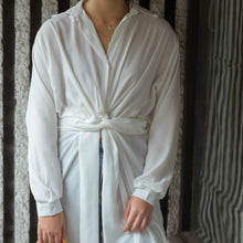 VALAIRE WRAP TUNIC SHIRT