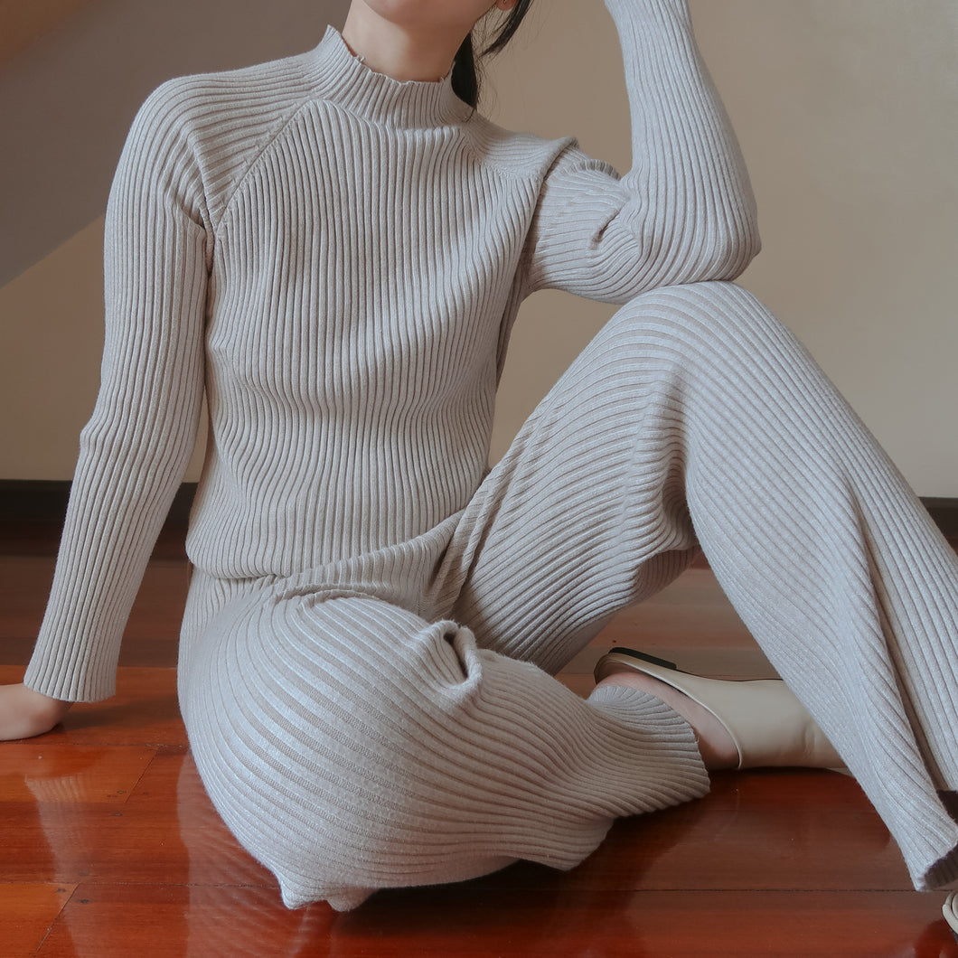 BONVIN KNIT TOP AND PANTS SET