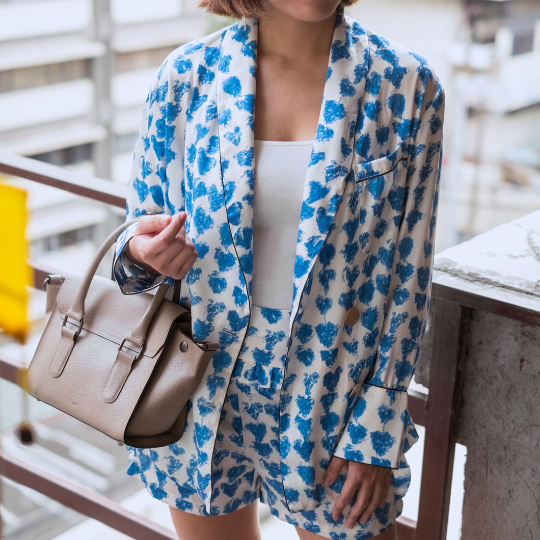 BAYARD BLAZER & SHORTS SET