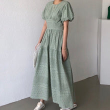 VENDOME EYELET MIDI DRESS