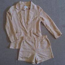 MARTHE LINEN SHORT SUIT