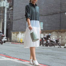 TENAYA MIDI SHIRTDRESS