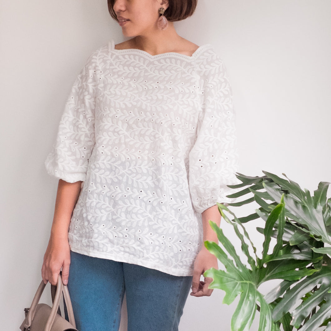 SORRELL EMBROIDERED TOP