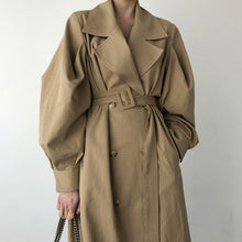 DOWNING PUFF SLEEVED TRENCH COAT