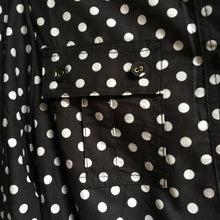 LORENE POLKA DOT PLAYSUIT