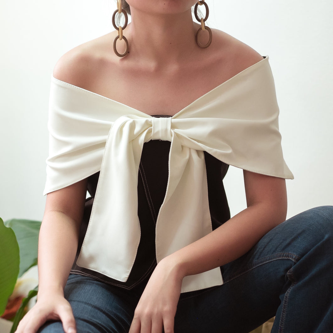 RENNES TWO-WAY OFF SHOULDER TOP
