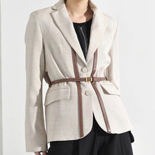 ORELLE BELT STRAPPED BLAZER