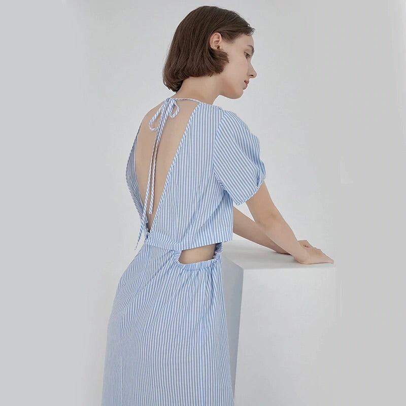 PLATT OPEN BACK DRESS