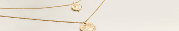 Rose Gold Coin Pendant