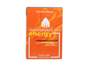 Energy Performance Tea (Box of 10 Stick Packs)