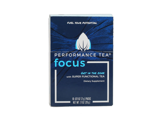 Focus Performance Tea (Box of 10 Stick Packs)