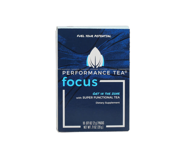 Coffee Alternative in single serve stick packs. Focus better.