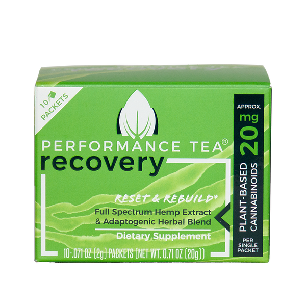 Recovery CBD Singles (2g) Box (10 Servings)
