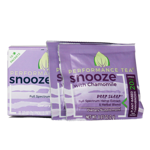 Snooze CBD Singles (2g) Box (10 Servings)