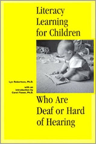 Literacy Learning for Children Who Are Deaf or Hard of Hearing-gifts-books-Shop Denison