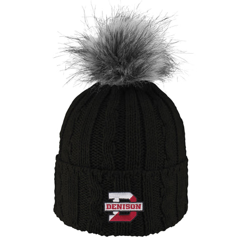 Alps Pom Beanie-hats-knitted-Shop Denison