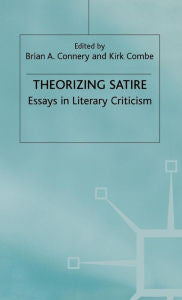 Theorizing Satire: Essays in Literary Criticism-gifts-books-Shop Denison