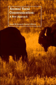Animal Vocal Communication: A New Approach-gifts-books-Shop Denison