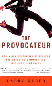 Provocateur: How a New Generation of Leaders are Building Communities, Not Just Companies-gifts-books-Shop Denison
