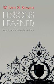 Lessons Learned: Reflections of a University President-gifts-books-Shop Denison