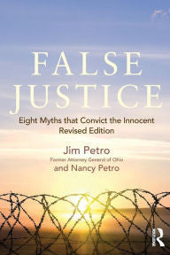 False Justice: Eight Myths that Convict the Innocent-gifts-books-Shop Denison