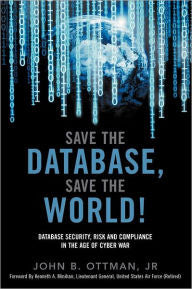 Save The Database, Save The World-gifts-books-Shop Denison