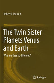 Twin Sister Planets Venus and Earth: Why are they so different?-gifts-books-Shop Denison