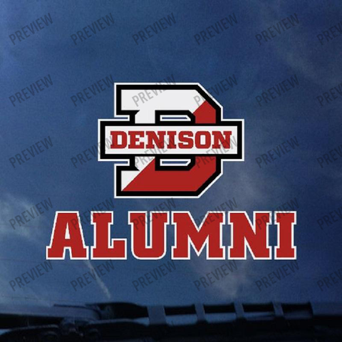 Decal: Alumni-gifts-decals-Shop Denison