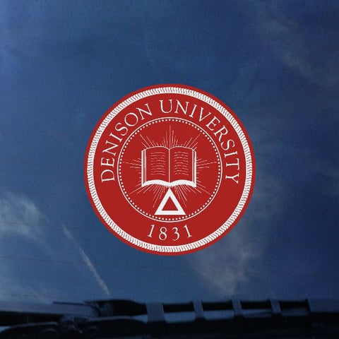 Denison Seal Decal-gifts-decals-Shop Denison