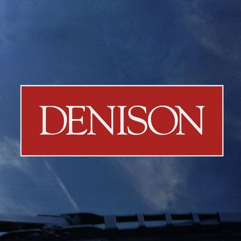 Official Denison Decal-gifts-decals-Shop Denison