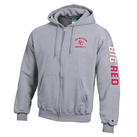 Champion Full Zip Hoodie-unisex-sweatshirts-Shop Denison